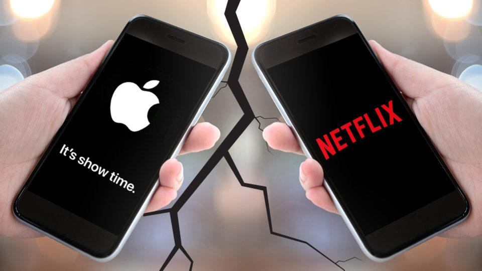Apple takes on Netflix